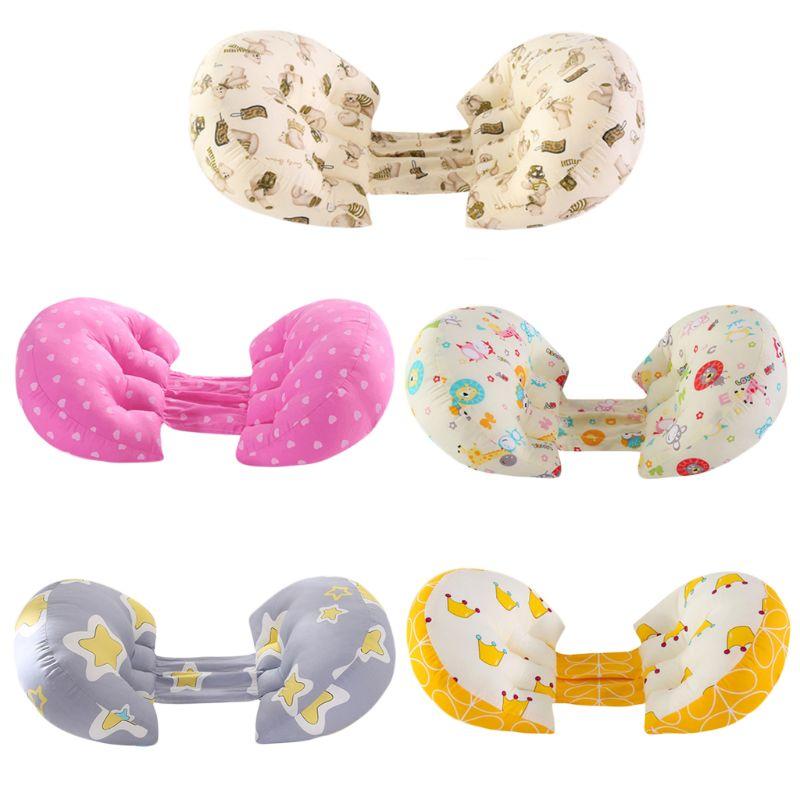 2021 New  Pregnant Women Pillow Waist Side Sleeping Pillows Multi-function Double-sided Semi-circular Cushion
