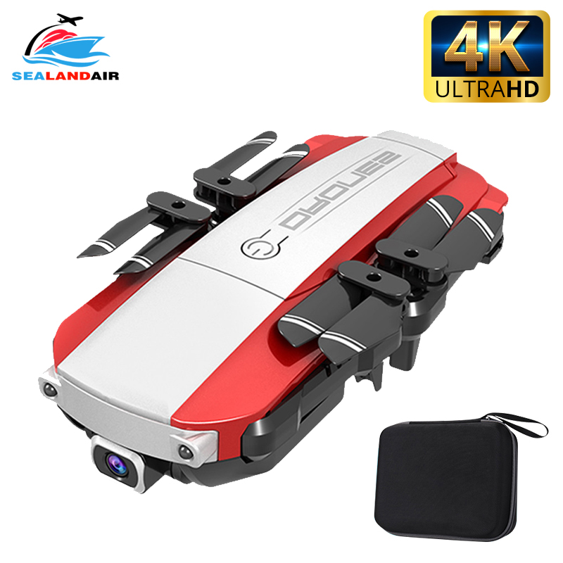 H3 Mini Drone 4K 1080P HD Dual Camera WIFI Real-time Aerial FPV Optical Flow RC Quadcopter Helicopter Foldable Dron Toys For Kid