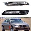 1 пара левый и правый крыло установленный Боковой габаритный фонарь, угловой листовая пластина светильник для BMW 5 серия F10 F11 F18 2011 2012 2013