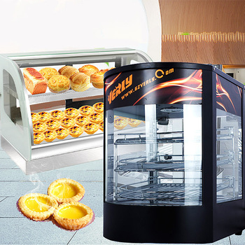 Food Heat Preservation Cabinet Commercial Food Warmer Cooked Food And Pastries Long Lasting Heat Preservation Food Showcase electric food warming display showcase hotdog warmer cabinet high quality food warming display case food heating show case