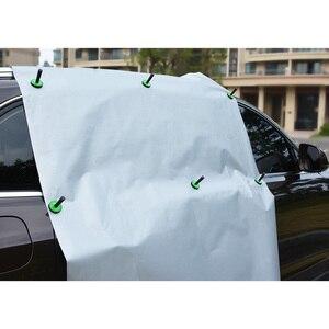 Image 2 - FOSHIO 4/8pcs Vinyl Car Wrap Strong Magnet Holder Carbon Fiber Foil Film Stickers Fix Aid Tool Window Auto Tinting Accessories