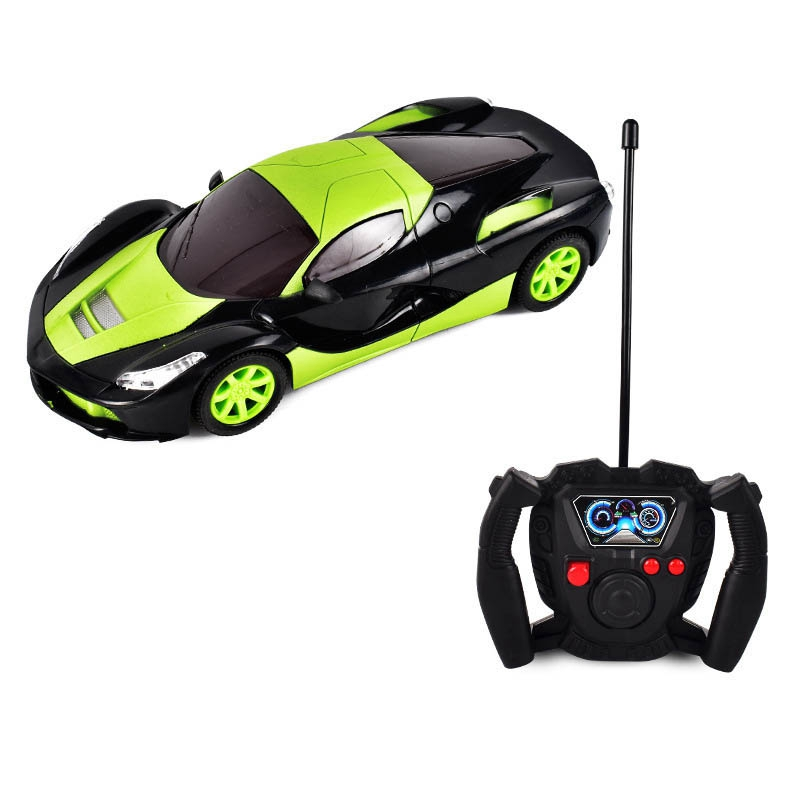1:20 <font><b>RC</b></font> LED Light Toy Car 4CH Electric <font><b>Drift</b></font> Remote Control Racing Car Vehicle Toys Best Gifts for Kids image