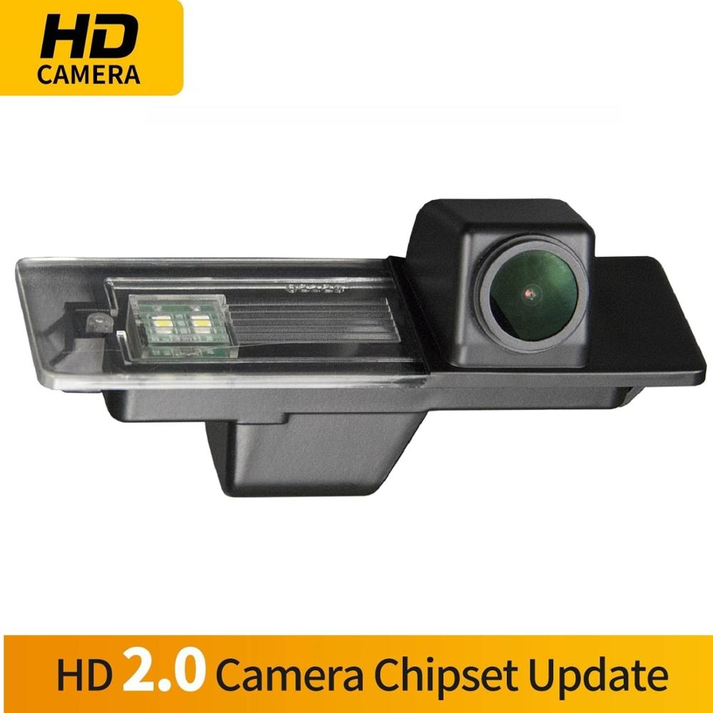,Rear View reverse parking Camera for Compass Longitude 2017 Misayaee Backup Camera with Tailgate Handle for Universal Monitors RCA
