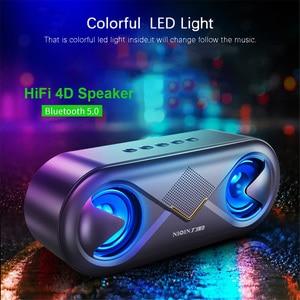 Image 1 - Портативный беспроводной Bluetooth 5,0 динамик 4D стерео звук громкий динамик открытый двойной динамик s Поддержка TF карта/USB накопитель/AUX