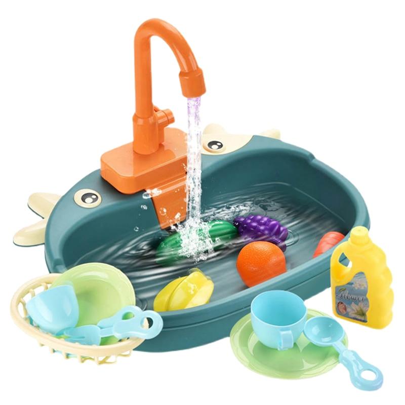 מטבח לילדים עם מים זורמים 1