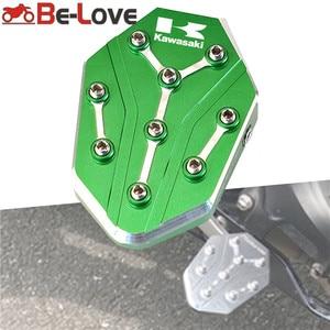Image 1 - Motorcycle Rear Foot Brake Lever Peg Pad Enlarge Extender Footrests Pedals For KAWASAKI Z900 Z650 Z400 NINJA 650 400 2017 2020
