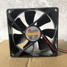 10PCS NEW 80mm fan for Y.S.Tech FD128015LB 80mm 8015 DC12V 0.09A 2100RPM cooling fan