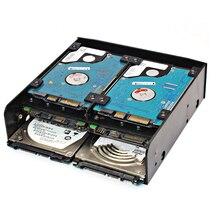 Bevigac 5.25 pollici a 3.5 pollici HDD SSD da 2.5 pollici Hard Disk Drive Adattatore di Montaggio Del Supporto Del Convertitore Vassoio Staffa Interna accessori
