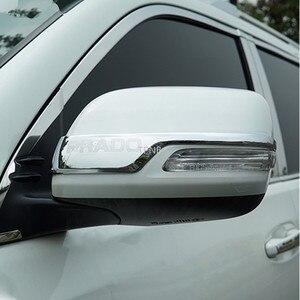 Image 2 - For Toyota Land Cruiser Prado 150 2010 2011 2012 2013 2014 2015 2016 2017 2018 2019 2020 Rear View Mirror Rubbing Strip