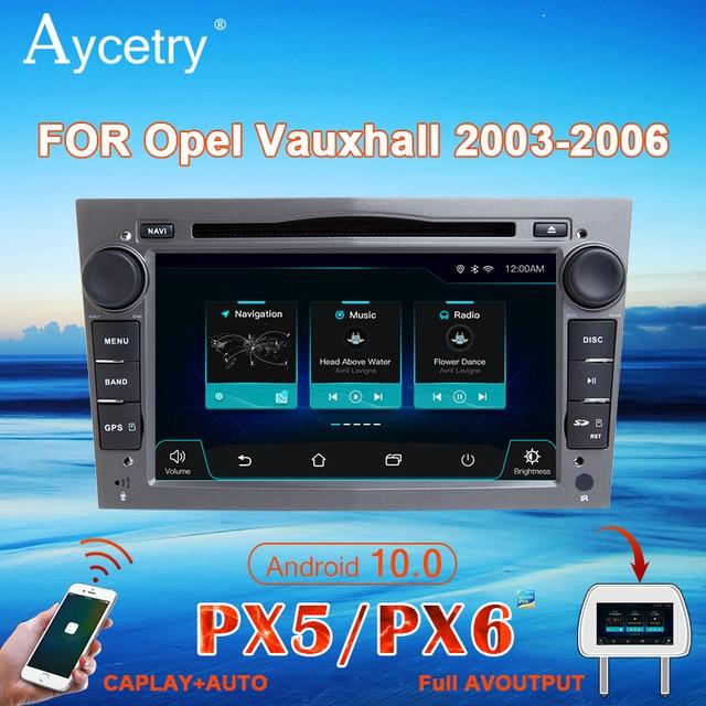 Araba radyo 2 Din Android 10 DVD GPS autoradio ses Opel Astra H için G J Antara corsa vectra Vivaro astra H zafira b için 2din stereo