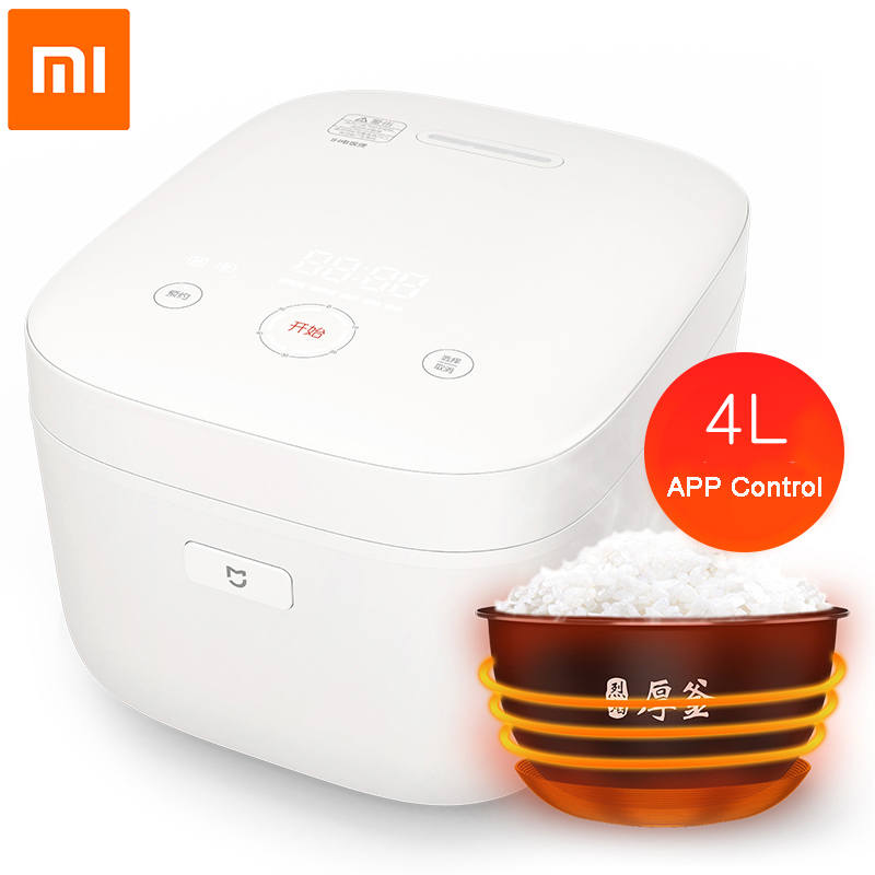Xiaomi Original IH 4L Electric Rice Cooker Alloy Non-stick Smart Heating Cooker Mi Home APP WiFi Remote Control Cookers IHFB02CM