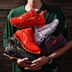 Image 5 - Sapatos masculinos de pouco peso antiderrapante confortáveis e respiráveis lac up sapatos masculinos tênis de basquete tenis feminino zapatos