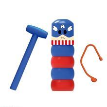 1 Набор, неподвижный стакан, магический упрямый бесземный деревянный человек, игрушка, волшебные трюки, магии, аксессуары для магии, смешная небьющаяся игрушка