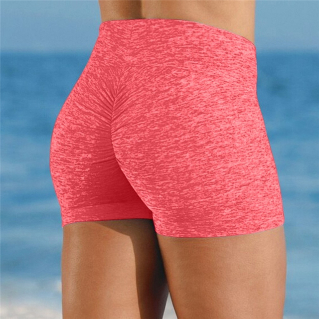 Quality Breathable Tight Shorts Fashion Women Solid Color Slim Shorts Hot Sale Skinny Women Short Pants For Female 1