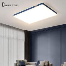 Светодиодный потолочный светильник акриловая металлическая прямоугольная