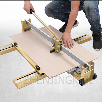 All Steel Manual Ceramic Tile Cutting Machine High Precision Tile Pusher Floor Tile Cutter Professional Glass Tile Cutter 800MM