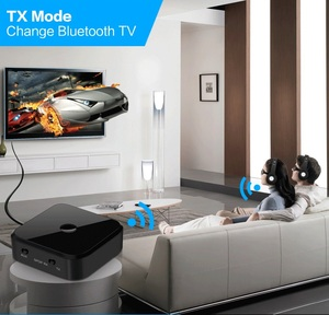 Image 2 - TX16 Bluetooth 5.0 HD Audio Transmitter Receiver Supports 3.5mm AUX SPDIF Digital For PC TV Wireless Adapter
