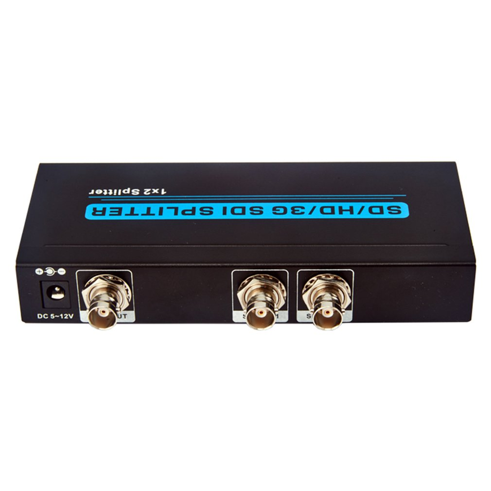 Sdt-102 (1X2 Sdi  Splitter) Sd/Hd/3G Sdi Splitter Full Hd Resolution Built-In Cable Equalization Synchronization Transmission