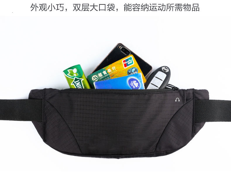 Colorful Waist bag Waterproof Waist Bum Bag Running Jogging Belt Pouch Zip Fanny Pack Sport Runner crossbody bags men AND women