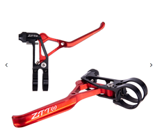 цена на Aluminum alloy Bicycle Folding Wheel Road Handbrake Handle V Brake Handle Ultra-light Hollow  Bicycle Accessories