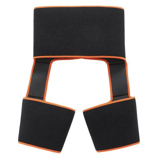 Sweat Hip Band Waist Trainer Thigh Trimmers Slimmer Body Shaper Belt For Waist Support Sport Workout Sweat Belts 3