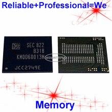 KMQD60013M B318 BGA221Ball EMCP 32 + 16 32GB โทรศัพท์มือถือหน่วยความจำใหม่และมือสองบัดกรีลูกบอลทดสอบ OK
