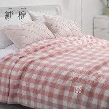 Vintage de algodón manta de hilo de toalla de baño toalla colcha estera de sofá mantas coche con aire acondicionado y la habitación edredón