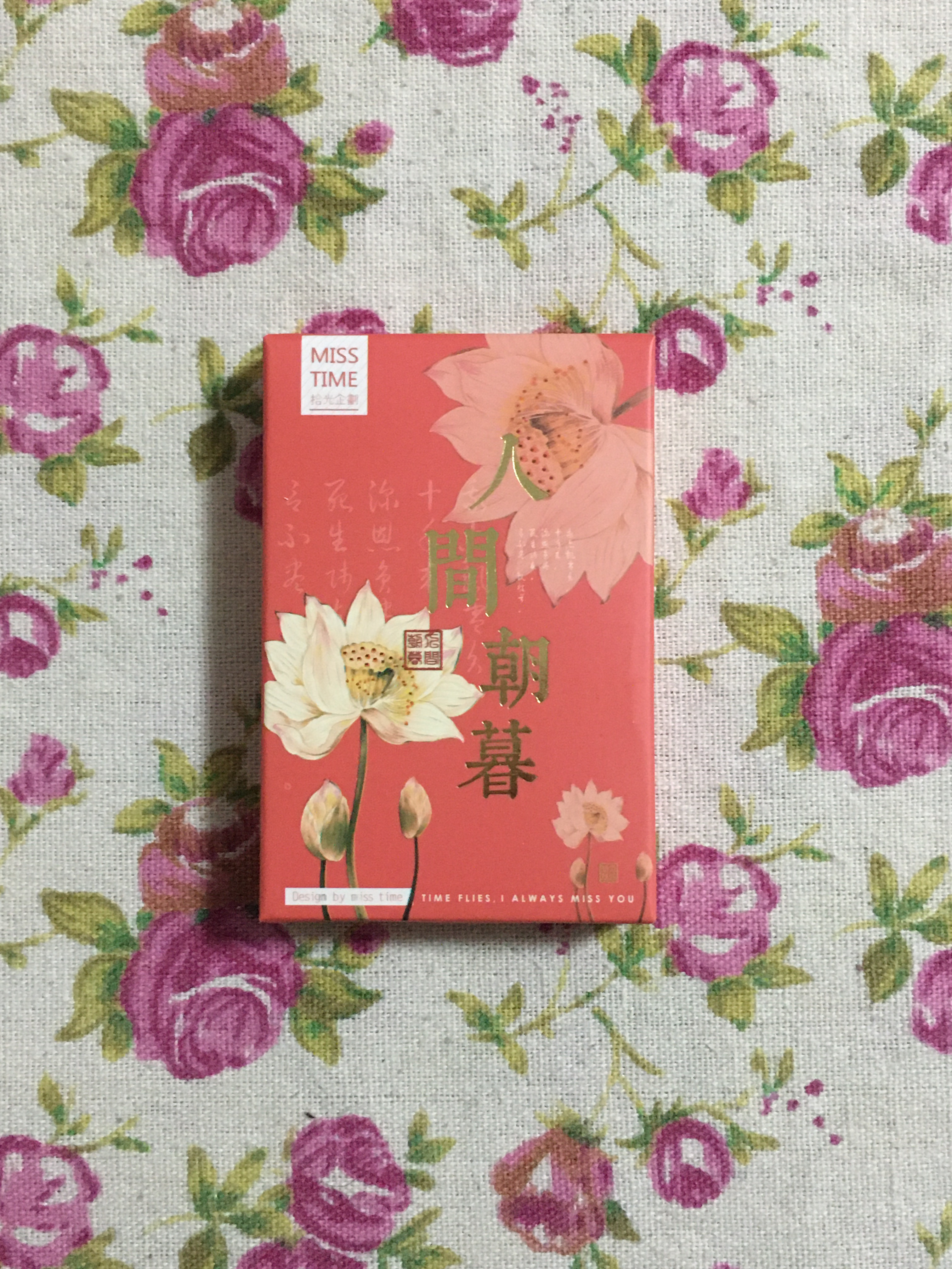 L225- Flower Life Paper Greeting Card Lomo Card(1pack=28pieces)