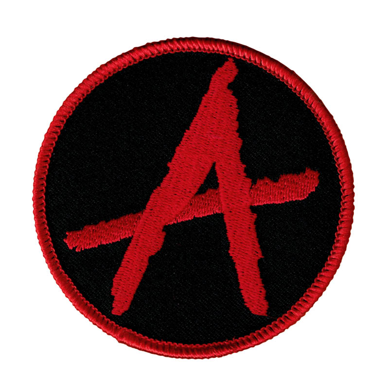 3'' Anarchy Symbol Punk Rock Anarchist Political Embroidered Iron On Patch