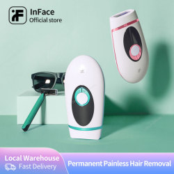 InFace Professional Depilatory Laser Hair Epilator Permanent Hair Removal IPL 900000 Flash Painless Laser Hair Remove