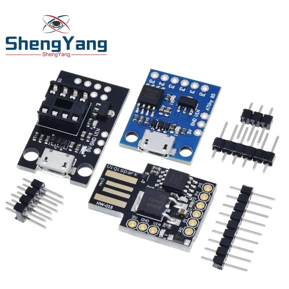 ShengYang 1 шт. GY Digispark Kickstarter миниатюрный Минимальный Совет по развитию ATTINY85 модуль для Arduino usb Attiny85-20pu DIP