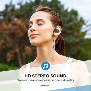 Image 2 - Mpow płomień 2 Bluetooth 5.0 słuchawki bezprzewodowe słuchawki z mikrofonem IPX7 wodoodporny 13H czas odtwarzania dla iPhone X 7 telefon xiaomi