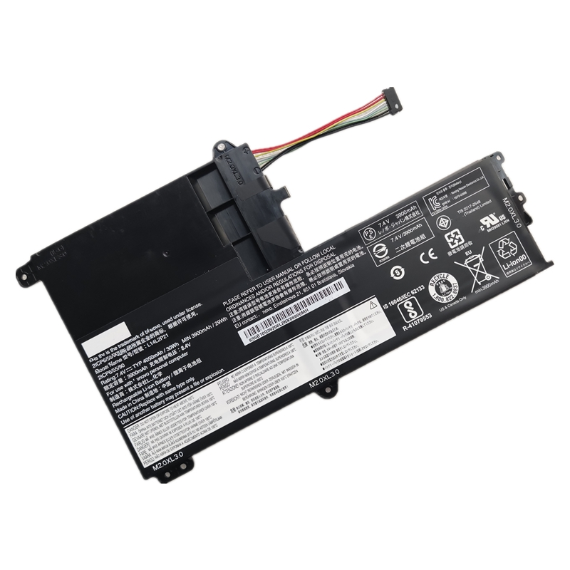 Original L14M2P21 L14L2P21 Laptop Battery For Lenovo S41-70AM 75 35 B50 IdeaPad 300S Yoga 500-151BD 510S-14ISK 15ISK 14IHW80N5