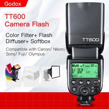 Godox TT600 TT600s Camera Flash Speedlite with X1T X1T-S X1T-C Trigger for Canon Nikon Sony Pentax Olympus Fuji
