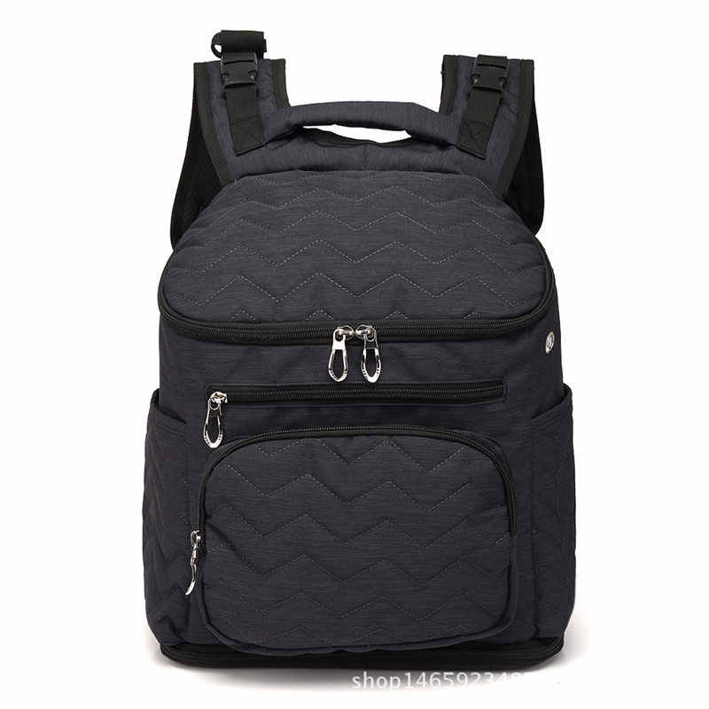 Mummy Bag Diaper Bag Fashion Mummy Maternity Nappy Bag  Baby Travel Backpack Diaper Organizer Nursing Bag For Baby Stroller