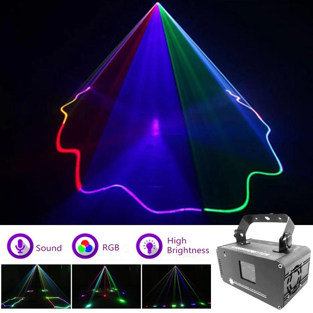 600mw RGB Full Color Laser Projector Professional Stage Lighting Effect DMX512 Scanner DJ Disco Bar Party Show Lights Scan Laser
