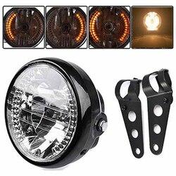 7 Xe Máy Đèn Pha Có Đèn LED Tín Hiệu Lần Lượt Các Chỉ Số + Tặng 2 Giá Đỡ 12V