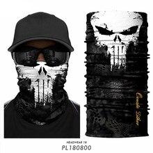 3d punisher máscara bandana mascarillas venom pescoço gaiter ciclismo máscara facial caminhadas cachecóis bandana esqui balaclava bufanda hombre