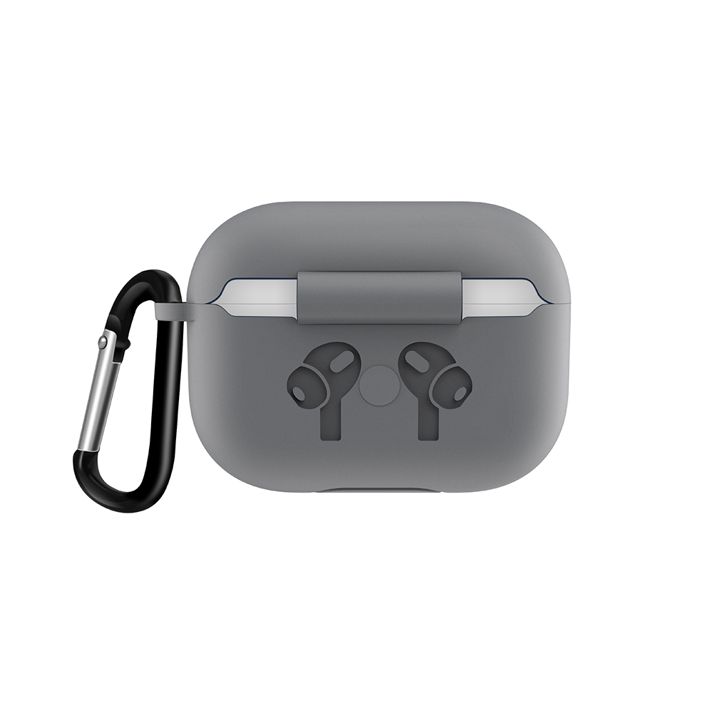 Silicone Case with Anti Lost Buckle for AirPods Pro 38