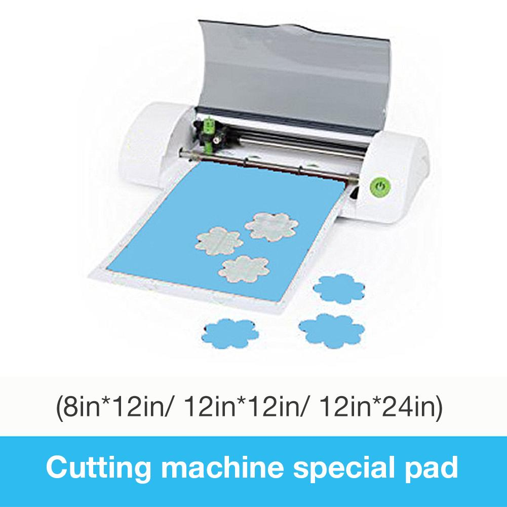 Cutting Mat Replacement Transparent Adhesive Pad With Measuring Grid 8 By 12-Inch For Silhouette Cameo Plotter Machine