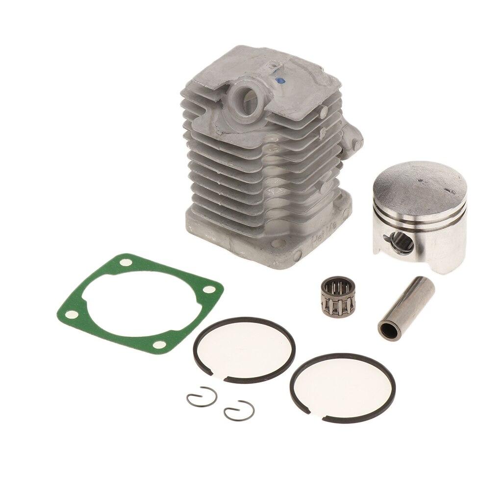 Комплект поршневых головок с кольцами, штырьковые клипсы для 49cc 2-тактного двигателя мотоцикла, квадроцикла, карманного велосипеда грязи