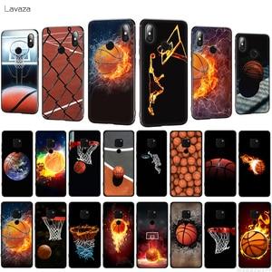 Lavaza Fiery Basketball Slam Dunk TPU Phone Cover for Huawei Honor 7A Pro 7C 7X 8X 8C 8 9 10 Lite Soft Case(China)