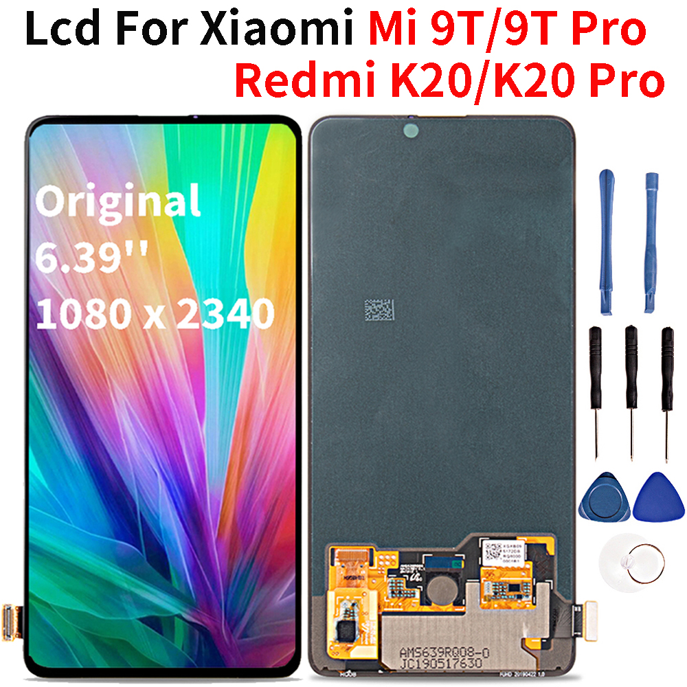 Lcd d'origine pour rouge mi K20 Pro 6.39 ''Lcd écran tactile numériseur assemblée pour Xiao mi 9T Pro