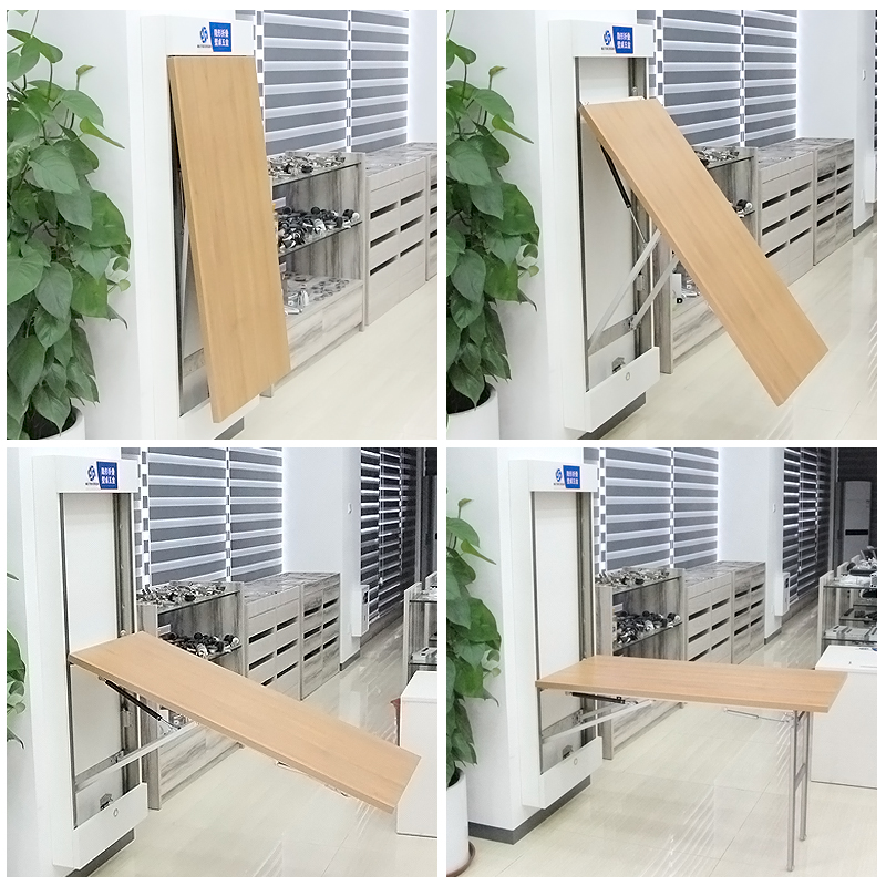 Multifunctional Invisible Folding Table Wall Hardware Fittings Retractable Hidden Table Connector