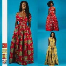 Африканские вечерние платья grace для женщин 2020 модные женские