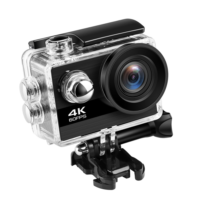4K Action Kamera Ultra HD 4K 60fps 24MP Wifi Sport Kamera 2,0 ''IPS Bildschirm 170D Breite Engel gehen Wasserdicht Pro Sport <font><b>Video</b></font> Kamera image