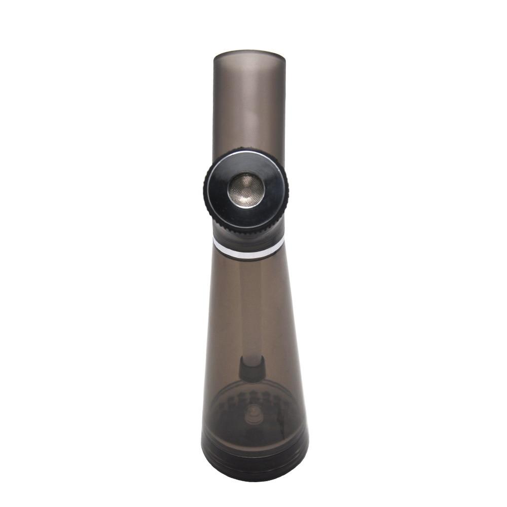 Acrylic Waterpipe With Grinder Hookah Shisha Water Bong Herb Tobacco Grinders for Smoking Weed 3