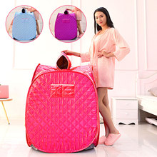 Portable Folding One Person Steam Sauna SPA Room Tent Box without Steamer for Weight Loss Full Body Slimming Relaxation