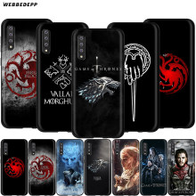 Webbedepp Game of Thrones Caso para Samsung Galáxia S7 S8 S9 S10 Plus Nota Borda 10 8 9 A10 A20 A30 A40 A50 A60 A70(China)