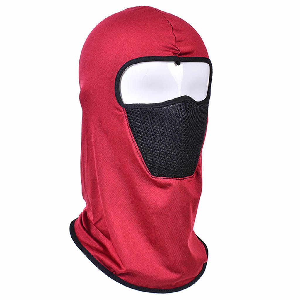 Chapeau de conduite unisexe tactique moto Skullies cyclisme chasse en plein air Ski masque complet casque bonnets sombrero mujer